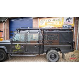 Tembo 4x4 side ladder Defender 130  - TBL15