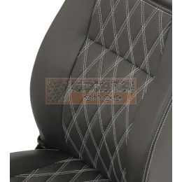 "90""/110"" R/H Front Outer Seat Diamond White XS - EXT303-DWXS"