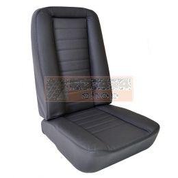 Klassieke stoel met lage rugleuning - EXT351
