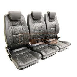 Premium tweede rij stoelen - Hoge rugleuning - Volledige set