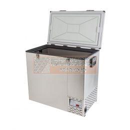 NL 125 Roestvrij stalen koelkast & vriezer - NL-FRI-11250