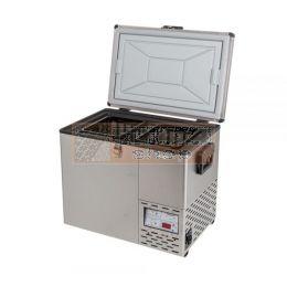 NL 40 Roestvrij stalen koel-vries combinatie