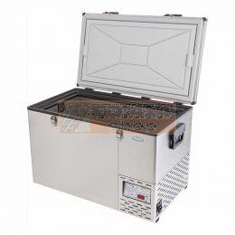NL 80 Roestvrij stalen koelkast & vriezer - NL-FRI-10800