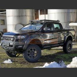 Horn Tools Ford Ranger >2015 roof rack black NAVIS