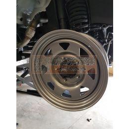 """Tembo 4x4 stalen wiel 16"""" + BFGoodrich AT 265/75R16 gemonteerd en uitgebalanceerd - TB9091"""