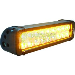 "11"" XMITTER PRIME AMBER LED BAR BLACK 18 5W LED'S 10° NARROW - XIL-P1810A"