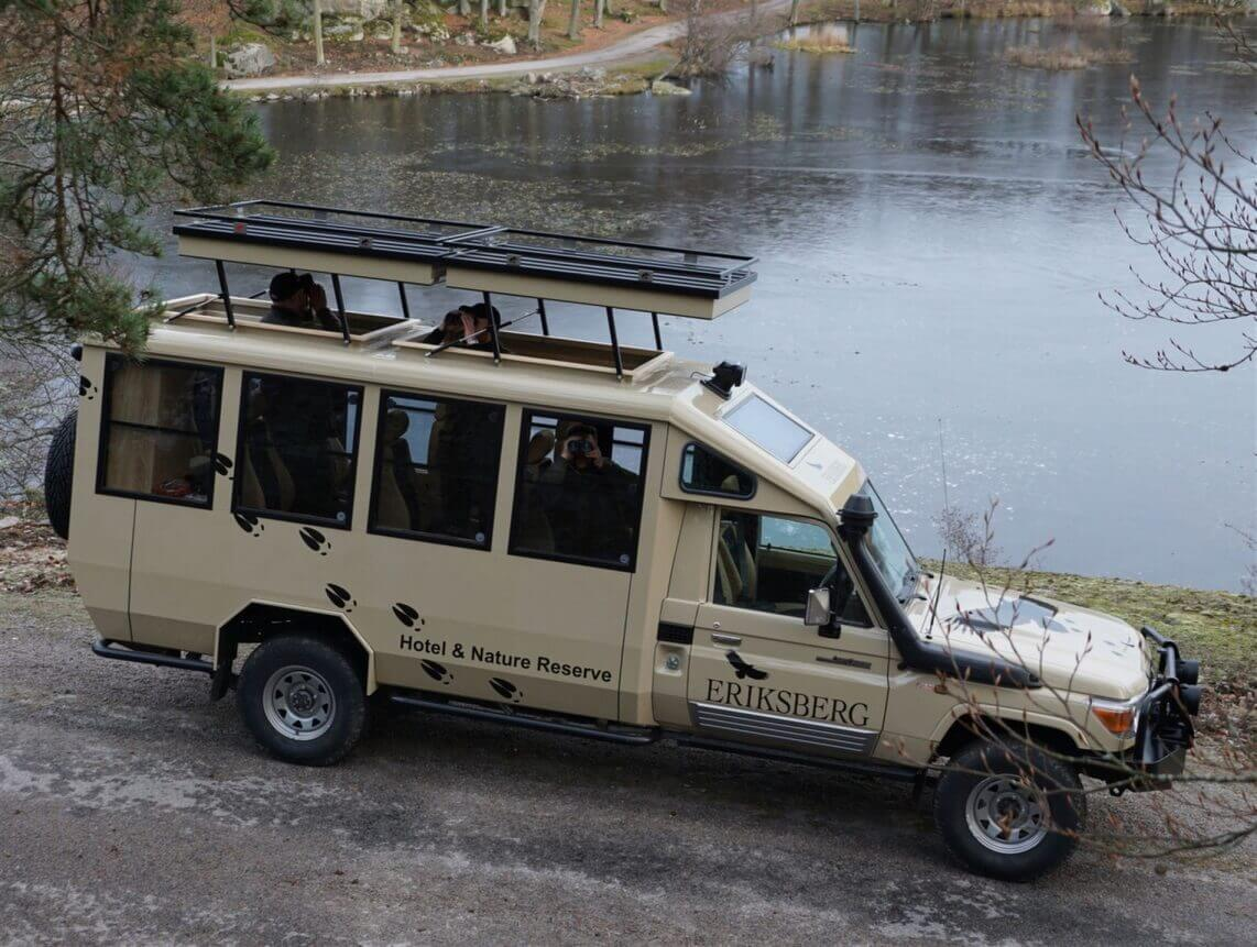 Safari vehicle conversion