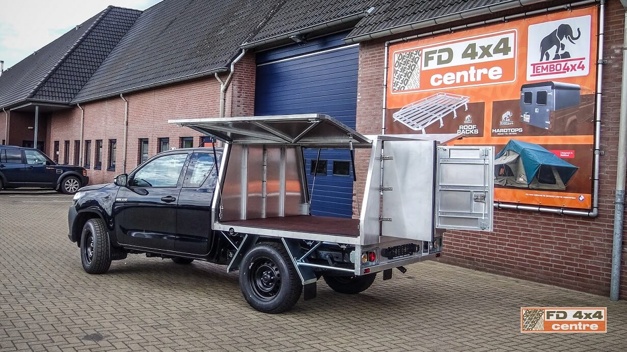 Hilux speciale opbouw