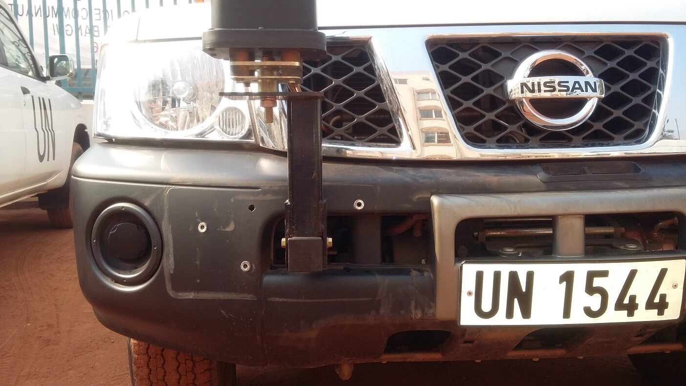 Codan antenna bracket nissan patrol UN