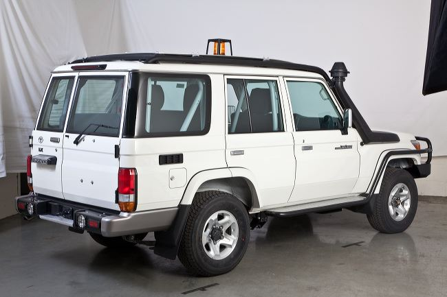 Toyota Land Cruisers conversion for mining