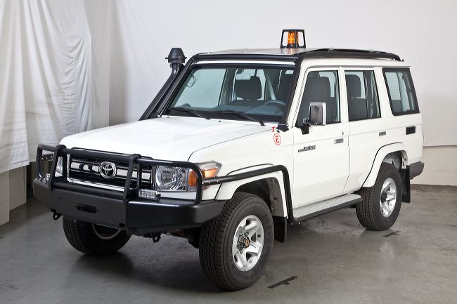 Landcruiser conversion for mining
