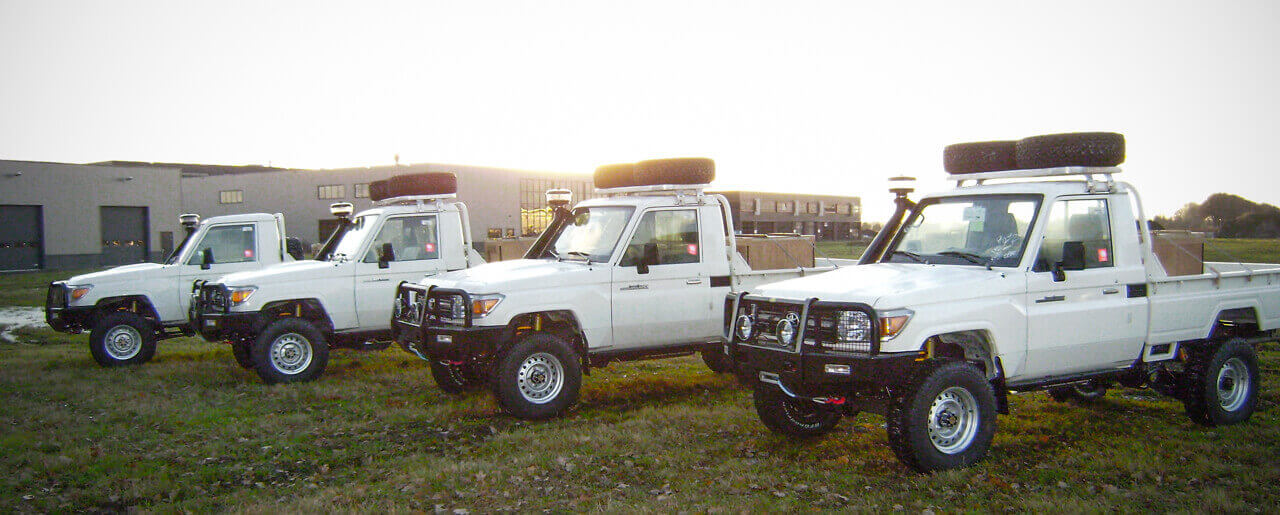 Government Toyota landcruiser 70-series