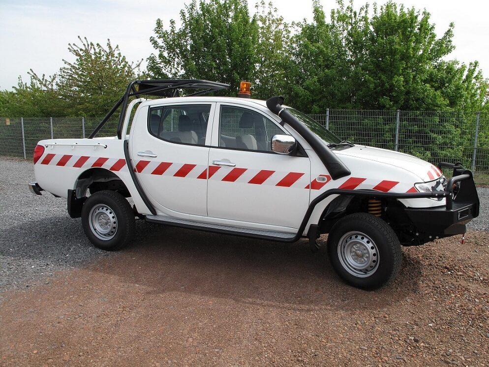 Mitsubishi l200 conversion for mining