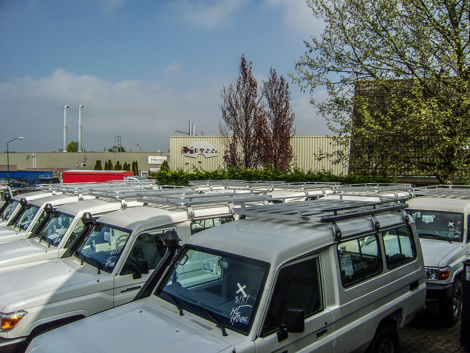 Toyota Landcruiser 70 series fleet