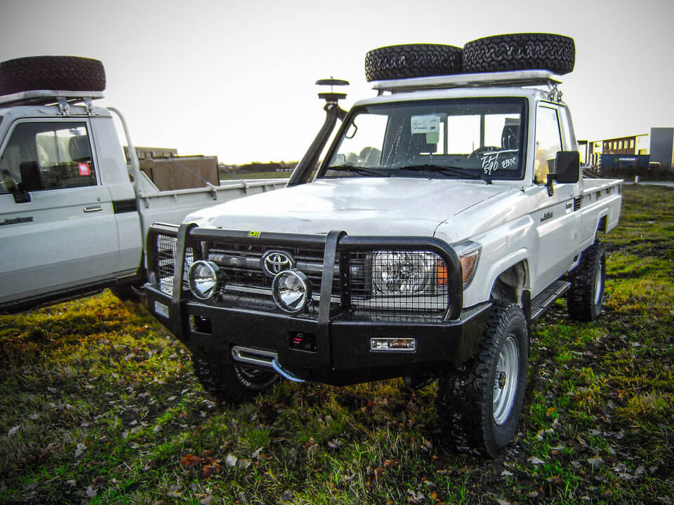 Toyota Landcruiser 70 series conversion